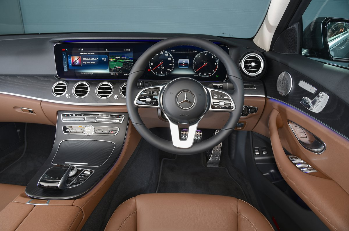 Mercedes E-Class All-Terrain dashboard
