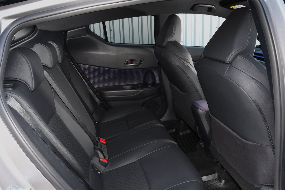 Toyota C-HR 2017 rear seats