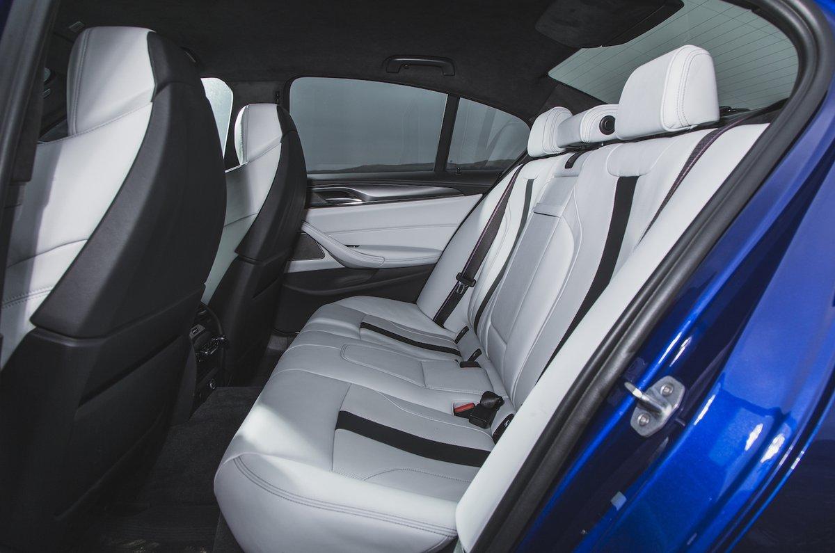 BMW M5 Rear Seat
