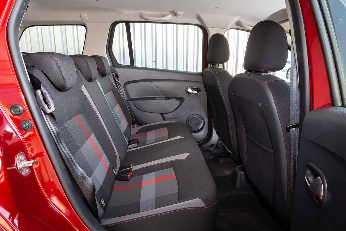 Dacia Logan MCV Estate 2019 rear seats