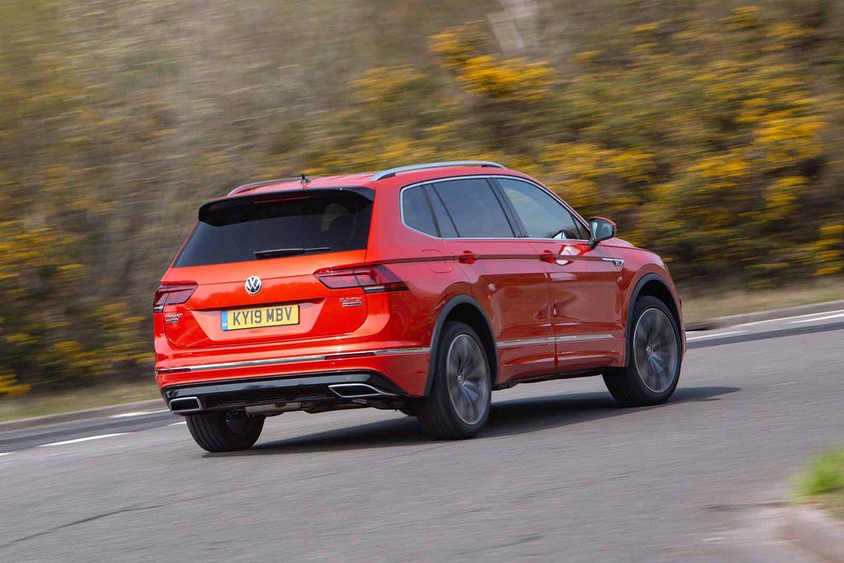 Volkswagen Tiguan Allspace 2019 rear right tracking shot