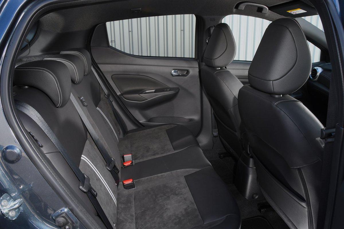 Nissan Micra 2019 RHD rear seats