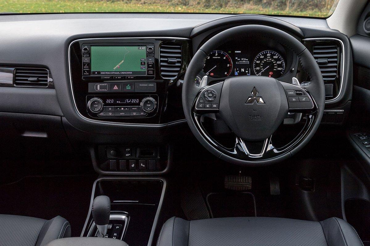 Mitsubishi Outlander RHD dashboard