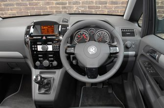 Used Vauxhall Zafira review 05-15