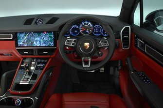 Porsche Cayenne interior