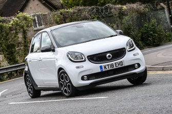 Smart Forfour EQ front cornering