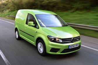 Volkswagen Caddy front