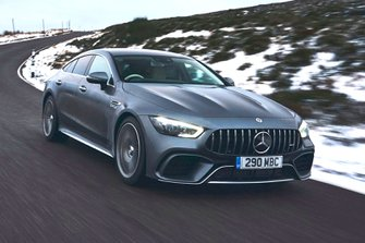 Mercedes-AMG GT 4-door 2019 front right tracking