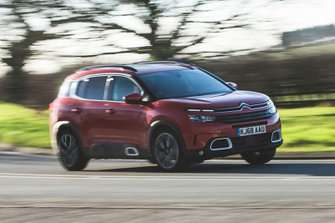 Citroen C5 Aircross 2019 front tracking