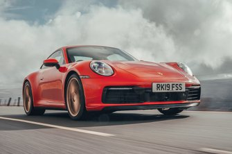 2019 Porsche 911 (992) front from low down