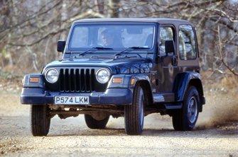 Used Jeep Wrangler 4x4 1997 - 2007