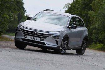 Hyundai Nexo 2019 front tracking
