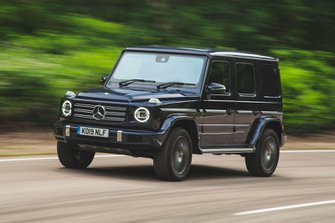 Mercedes-Benz G-Class 2019 front left tracking