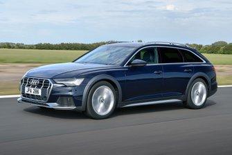 Audi Allroad 2019 RHD front tracking