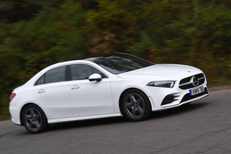 Mercedes A Class Saloon 2019 front right tracking