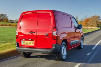 Citroen Berlingo rear