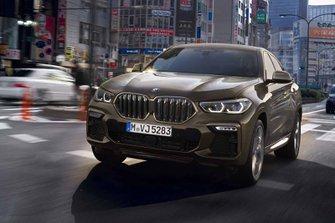 BMW X6 2019 LHD front cornering