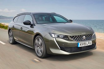 Peugeot 508 SW front three quarters