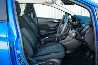 Ford Fiesta 2019 RHD front seats