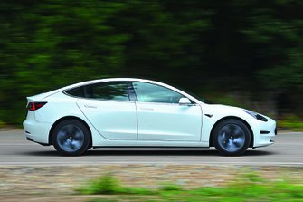 Tesla Model 3 2019 RHD right panning