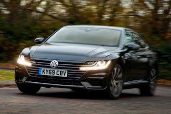 Volkswagen Arteon 2019 front tracking RHD