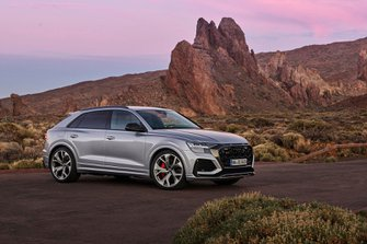Audi RS Q8 2019 front right static LHD