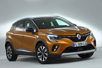 Renault Captur 2019 front left studio static LHD