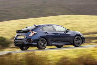 Honda Civic Hatchback 2019 wide tracking RHD