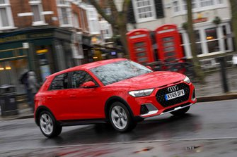Audi A1 Citycarver 2020 RHD front wide tracking cornering