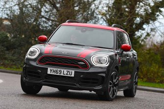 Mini Countryman JCW 2020 front cornering RHD