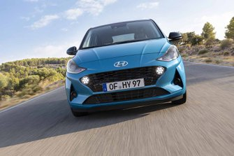 Hyundai i10 2020 front head on LHD