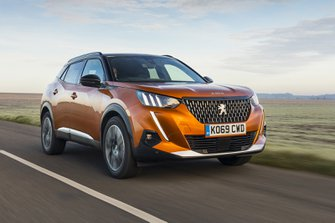 Peugeot 2008 2020 RHD wide front tracking