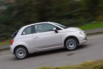 Fiat 500C 2020 RHD right panning