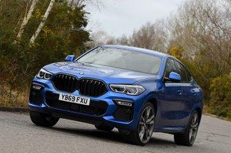 BMW X6 2020 RHD front cornering