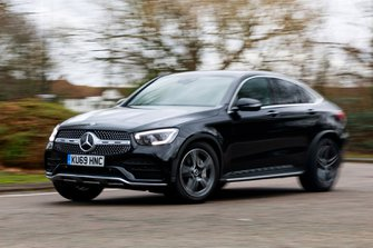 Mercedes-Benz GLC 2020 RHD front tracking