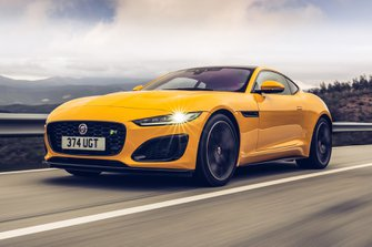 Jaguar F-Type Coupe 2020 front low tracking