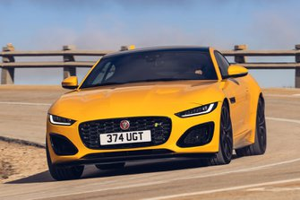 Jaguar F-Type Coupe 2020 front tracking