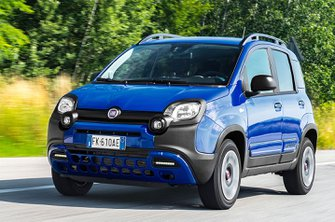Fiat Panda Cross front