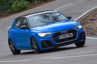 Audi A1 2020 RHD front tracking