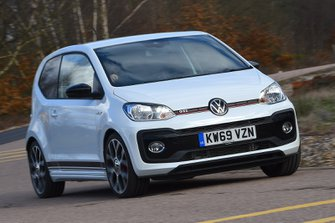 Volkswagen Up GTi 2020 RHD front tracking