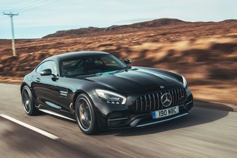 Mercedes-AMG GT 2020 RHD front tracking