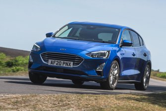 Ford Focus 2020 RHD front left tracking