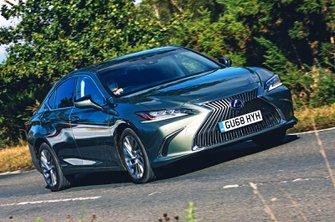 Lexus ES front - 68 plate