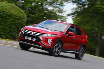 Mitsubishi Eclipse Cross 2019 front left cornering