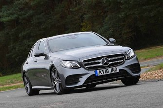Mercedes-Benz E-Class 2018 UK front cornering