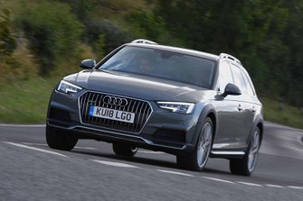 Audi A4 Allroad 2018 front tracking