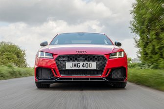 Audi TT RS 2019 head on