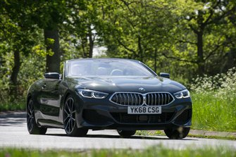 BMW 8 Series Convertible 2019 RHD front tracking