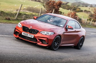BMW M2 Competition 2019 nsf tracking