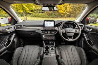 Ford Focus Estate 2019 RHD dashboard